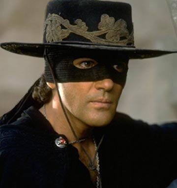 Color Photo Antonio Banderas The Mask of Zorro Photographic Archives
