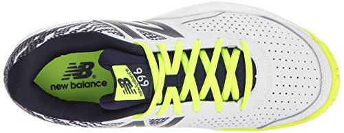 Amazon.com | New Balance Mens 696v3 Tennis-Shoes, Hi Lite/Pigment, 7 2E US | Tennis & Racquet Sports