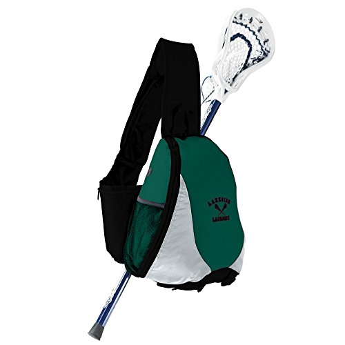 Game Duffle with Shoe Pocket – Black/Silver/Green Review