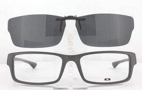 OAKLEY SERVO-OX1066-57X18 CLIP-ON (Frame NOT - Custom Sunglass Clip Ons