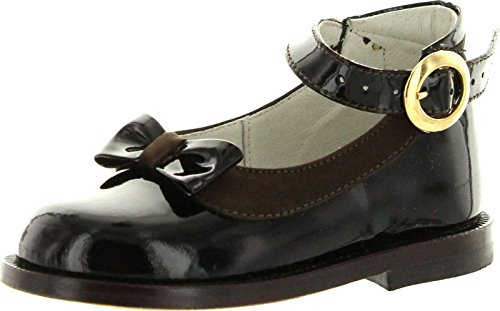Oxford Girls 62-2292 Made In Italy Beautiful Dress Shoes,Bro