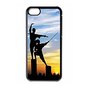 SYYCH Phone case Of Chinese Kung Fu Cover Case For Iphone 5C