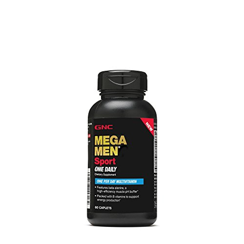 GNC Mega Men Sport One Daily Mens Multivitamin, 60 CAPLETS