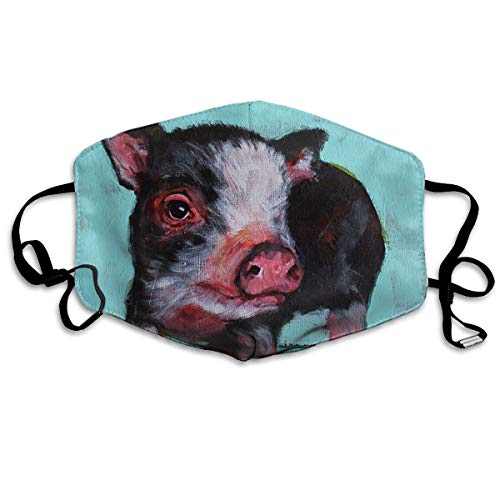 YUANSHAN Dust Mask Pig Baby Painting Outdoor Mouth Mask Anti Dust Mouth Mask for Man Woman ()