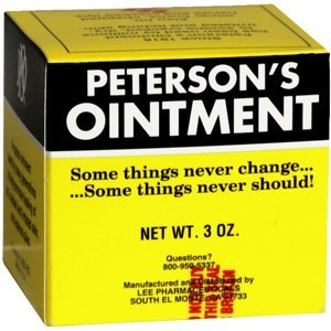 (PETERSON'S OINT JAR 3OZ PartNo. 2355868920 by,OAKHURST COMPANY *** (1 pack ) by Beststores)