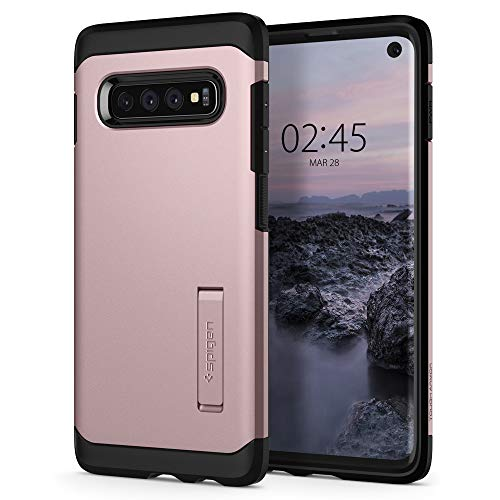 Spigen Tough Armor Designed for Samsung Galaxy S10 Case (2019) - Rose Gold
