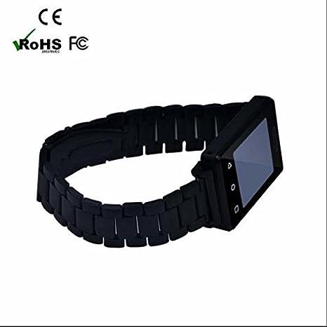 Smart Watch Teléfono de reloj, Smart Watch móviles con ranura de tarjetas SIM, GSM Global de ...