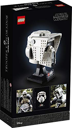 LEGO Star Wars Scout Trooper Helmet 75305 Collectible Building Toy, New 2021 (471 Pieces)