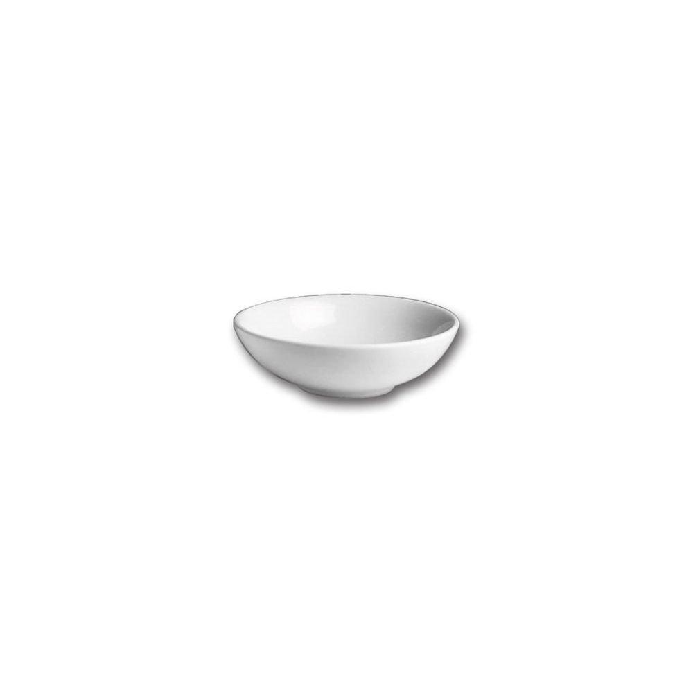 Hall China 12810AWHA White 3 Pint Salad / Pasta Bowl - 12 / CS