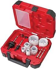 Milwaukee 49-22-4175 General Purpose Hole Saw Kit, 15-Piece