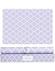Merriton Scented Fragrant Shelf & Drawer Liners | Fresh Scent Paper Liners Perfect for Dresser, Linen Closet, Cabinet Drawers, Kitchen, Bathroom, Vanity (6 Sheets) (French Lavender)