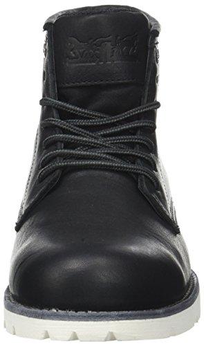 Noir Herren Schwarz Stiefel Black High Regular Black Levi's Kurzschaft Regular Clean Jax S8zzf