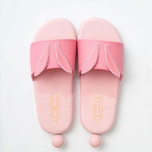 SHOP Home Zapatillas LI SHI femeninos Zapatillas Cute ducha antideslizante nbsp; baño XIANG Verano Indoor Fwqp6TE