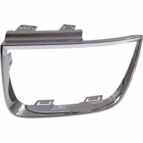 (For 2010-2013 CHEVROLET CHEVY CAMARO Driver Side OEM Replacement Taillight Bezel BEZEL GM2812103 (CV CAMRO COUPE 10-13/CONV. Not Fit ANNIVERSARY PKG 11-13)(CHROME) )
