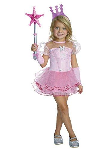 Glinda The Good Witch Tutu Costume (Wizard of Oz Dorothy Tutu Girls' Child Halloween Costume Toddler 2T/4T)