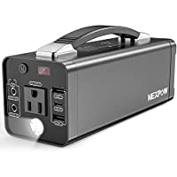 NEXPOW Portable Power Station, 178Wh Sol...