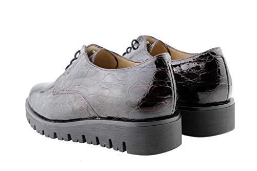 Zapato Cordón 175701 Cómodo Burdeos Piesanto Kailux Mujer rEqrS8
