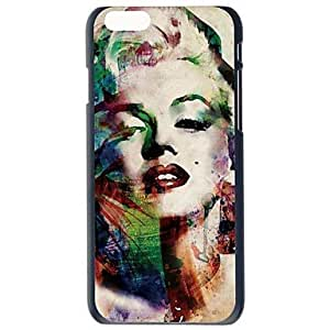 Doopootoo? Fashion Marilyn Monroe Design Painted Pattern Slim Plastic Back Hard Case Cover For iPhone 6 Plus 5.5