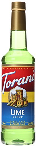 Torani Syrup, Lime, 25.4 Ounce (Pack of 4) - Lime Syrup
