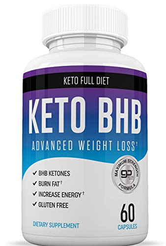 Keto BHB Diet Pills - Ketogenic Keto Weight Loss Pills for Women and Men - Keto Diet Supplement BHB Salts - Ketosis Keto Supplement Exogenous Ketones - Keto Pills Weightloss 60 Capsules