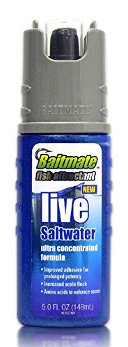 Baitmate Live Saltwater Scented Fish Attractant, 5 Fluid-Ounce