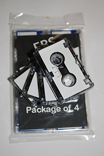 EBS MC-601 Full Hour Microcassette Recording Tapes..Package of 4 by EBS Ribbons