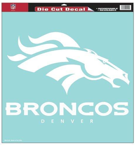 Wincraft Denver Broncos 18x18 Die Cut DecalSALE