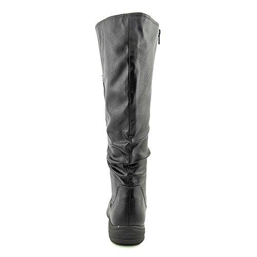 Hush Puppies Feline Alternative Wide Calf Tall Boots Black Polyurethane wWNmQtBnKN