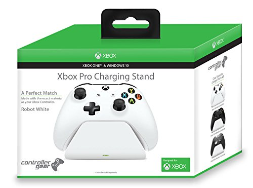 Controller Gear Robot White Xbox Pro Charging Stand (Controller Sold Separately) - Xbox One