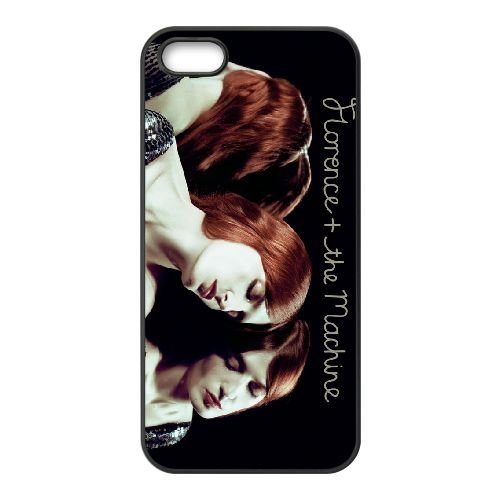 Florence And The Machine 001 coque iPhone 4 4S cellulaire cas coque de téléphone cas téléphone cellulaire noir couvercle EEEXLKNBC25076