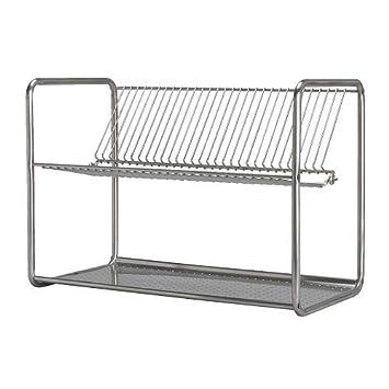 Ikea Ordning égouttoir Vaisselle Acier Inoxydable