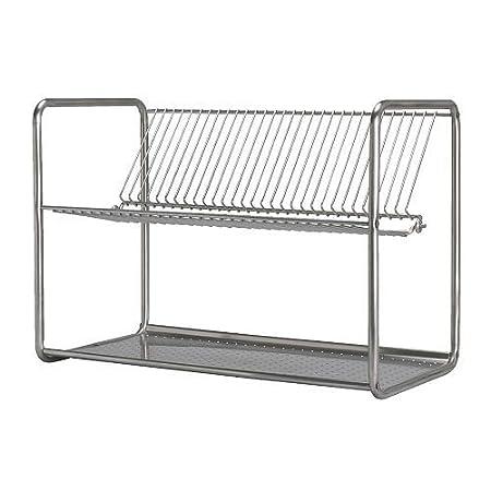 Ikea Ordning Dish Drainer Stainless Steel 50x27x36 Cm Amazon