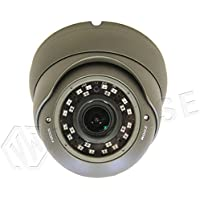 VIEWISE Full HD 1080P 2Megapixel Dome Camera, Indoor / Outdoor Surveillance Security Camera Video Monitoring Night Vision 4-in-1 HD-TVI, AHD, CVI, CVBS Eyeball Turret Camera 2.8-12mm Varifocal Lens