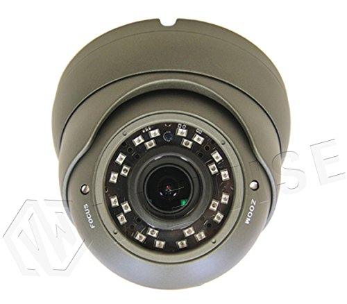 Cheap VIEWISE HD 1080P 2MP SONY Sensor Indoor / Outdoor Surveillance Security Camera Video Monitoring Day Night Vision 4-in-1 HD-TVI/AHD/CVI/1200TVL) Eyeball Turret Dome 2.8~12mm Varifocal Lens (Gray)