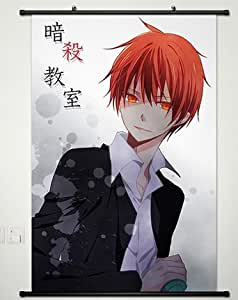 Wall Scroll Poster Fabric Painting For Anime Assassination Classroom Akabane Karuma 003 S
