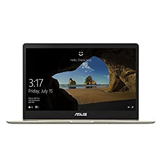 ASUS ZenBook 13 Ultra-Slim Laptop 13.3in FHD Display, Intel 8th gen Core i5-8250U, 8GB RAM, 256GB M.2 SSD, Win10, Backlit KB, FP, Icicle Gold, UX331UA-AS51 (Renewed)