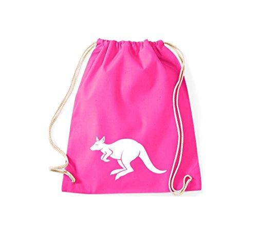 Shirtstown - Bolso de tela de algodón para mujer Rosa - rosa