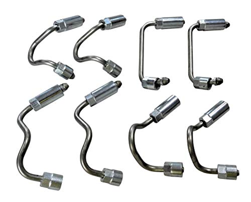 (Fuel Rail Injector Lines for 2004.5-2005 6.6l LLY Duramax)