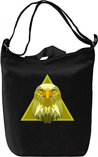 Beauty Of Eagle Borsa Giornaliera Canvas Canvas Day Bag  100% Premium Cotton Canvas  DTG Printing 