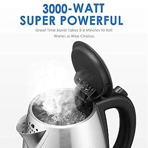 Deik Kettle 3000W Quick Boil Electric