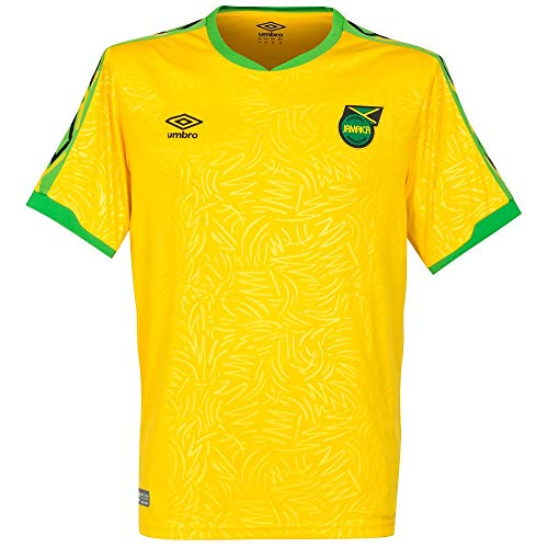 Umbro 2018-2019 Jamaica Home Football Soccer T-Shirt - Umbro Soccer T-shirt