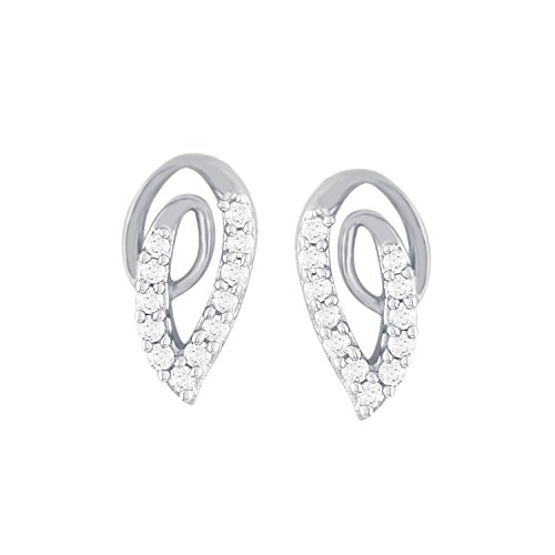 Giantti 14 carats Diamant pour femme Boucles d'oreille à tige (0.3094 CT, VS/Si-clarity, Gh-colour)