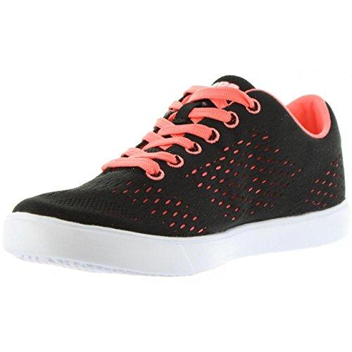 Chaussures de sport pour Femme KAPPA 302GWB0 DEM C57 BLACK-RED CORAL
