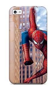 Defender Case For Iphone 5c, Spiderman Webslinging Pattern