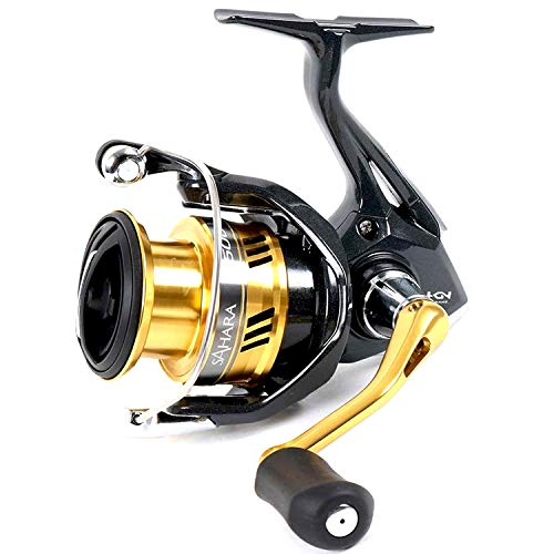 SHIMANO Sahara FI Spinning Fishing Reel, Hagane Gear, Model 2017