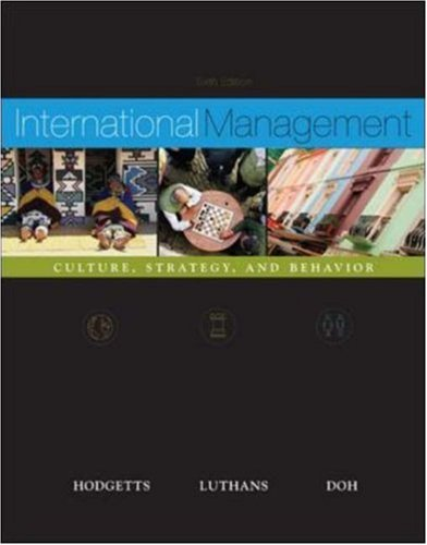 International Management: Culture, Strategy and Behavior w/ OLC card MP
