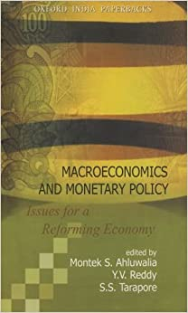 Macroeconomics and Monetary Policy: Issues for a Reforming Economy New Ed Edition price comparison at Flipkart, Amazon, Crossword, Uread, Bookadda, Landmark, Homeshop18