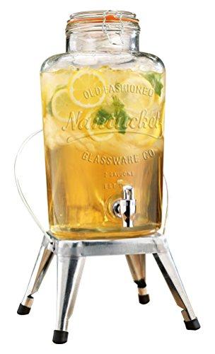 glass drink dispenser stand - 7