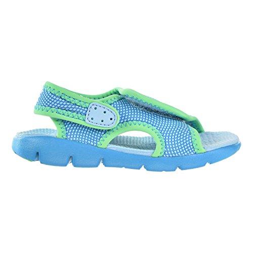 NIKE Kids 'Sunray Adjust 4 Kleinkind Sandalen Immer noch Blau / Chlorblau