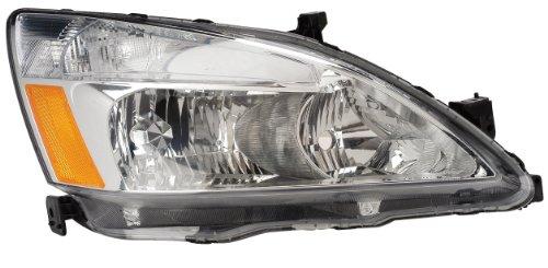 Eagle Eyes HD393-B001L Honda Driver Side Head Lamp Assembly